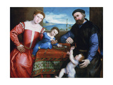 Giovanni Della Volta with His Wife and Children  C1547