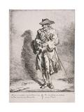 Flint and Steel Seller  Cries of London  1760