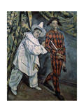 Pierrot and Harlequin (Mardi-Gra)  C1888