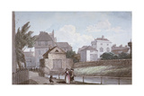 The Thatched House Inn and the New River  Islington  London  C1790