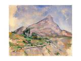 Mont Sainte-Victoire  1897-1898