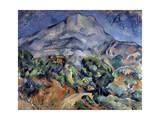 Mont Sainte-Victoire  1896-1898