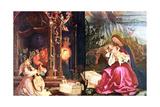 The Nativity of the Antonins of Isenheim  C1490-1528