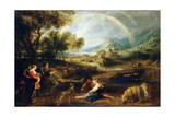 Landscape with a Rainbow  Early 1630S