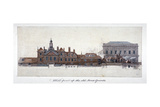 East Front of Horse Guards  Westminster  London  C1749