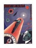 Poster for the Film Travel to Mars  1926