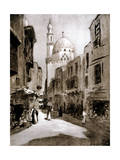 Old Street in Sunlight  Cairo  Egypt  1928