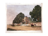 The South Lodge at the Ranger's House  Greenwich  London  1812