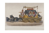 View of the Funeral Car of the Duke of Wellington  1852