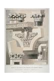 Architectural Details  Fleet Street  City of London  1861