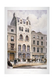 Shop Fronts on New Bond Street  Westminster  London  C1860