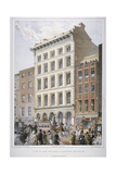 New Buildings in Cheapside (Nos 107 and 10)  City of London  1860