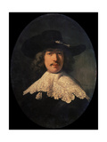 Portrait of a Young Man with a Lace Collar  1634