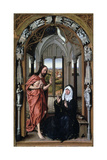 Christ Appearing to His Mother  C1440