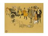 Poster Advertising Berliet Cars  1906