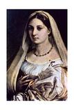 Woman with a Veil (La Donna Velat)  1512-13
