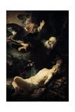 Abraham Sacrificing Isaac  1635