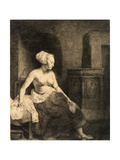 Seated Female Nude  1658