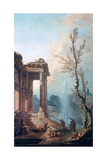 The Portico of a Country Mansion  1773