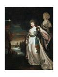 Portrait of the Lady-In-Waiting Coutess Alexandra Branitskaya  1778-1781