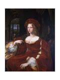 Portrait of Jeanne D'Aragon  1518