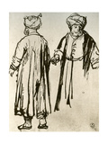 Two Turks Walking  1913