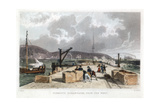 Plymouth Breakwater from the West  1829