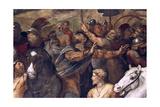 Pope Leo I  Repulsing Attila  (Detail)  1511-14