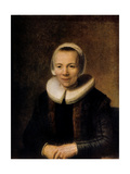 Portrait of Baertje Martens  1649