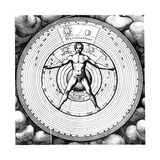 Diagram Showing Man's Position in the Universe  1617-19