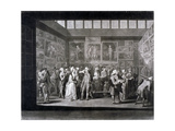 Royal Academy of Arts Exhibition in a House on Pall Mall  Westminster  London  1771