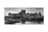Windsor at Sunrise  from the Brocas  1880