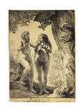 Adam and Eve  1638