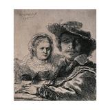 Self-Portrait with Saskia  1636