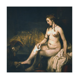 Bathsheba at Her Bath   1654