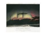 Aurora Borealis or Northern Lights  Curtain Form 1839