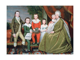 Mrs Noah Smith and Her Children  1798