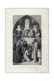 The Baptism of Ethelbert King of Kent  by St Augustine  Canterbury in 597