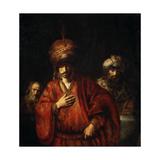 Haman Recognizes His Fate (David and Uria)  1665