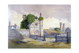 View of Beckingham Hall Near Withham  Essex  1869