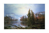 Autumn Landscape  Mid-Late 19th Century
