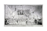 Interior View of a Gymnasium  26 St James's Street  Westminster  London  C1830