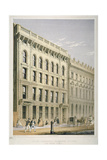 View of the Ocean Insurance Company's Offices  Old Broad Street  City of London  1864