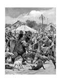 Bear-Baiting in Saxon Times