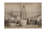 Prince Albert Laying the First Stone of the New Royal Exchange  London  17th January 1842