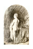 Female Nude  17th Century