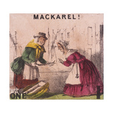 Mackarel!  Cries of London  C1840