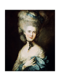 A Lady in Blue (Duchess of Beaufor)  C1780