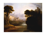 Fanciful Landscape  1834