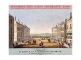 Portland Place  Marylebone  London  1831